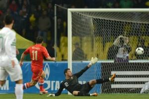 ポルトガルはロシアに敗れる